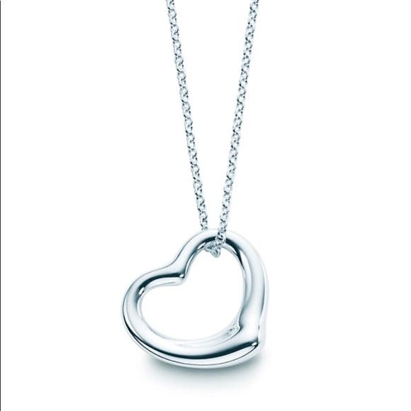 Elsa peretti open heart pendant poshmark elsa peretti open heart pendant aloadofball Choice Image